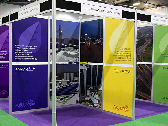 Exhibition Stand Panels : Poster printing exhibition stands full colour posters